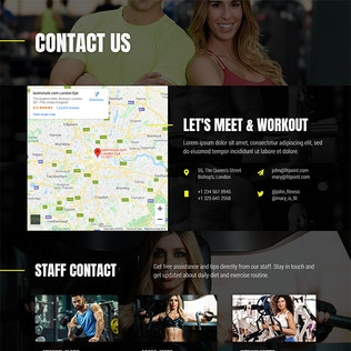Thumbnail for Fit Point - Gym & Fitness Template Kit