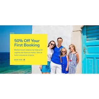 WeTravel - Reisen und Tourismus Vorlage Kit
