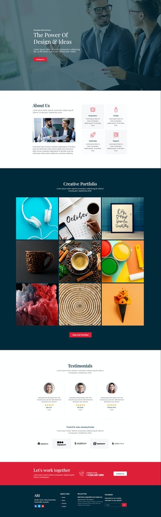 Thumbnail for ARI - Agency Template Kit