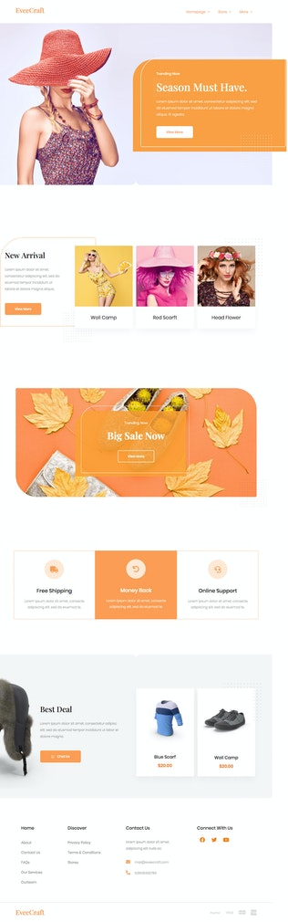 Thumbnail für Stylishion | Fashion Elementor Template Kit