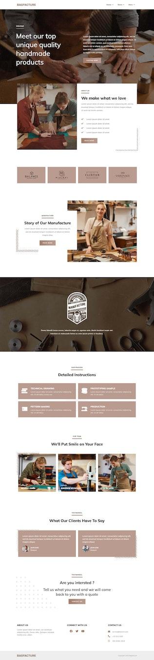 DashBag   Bags Shop Elementor Plantilla Kit