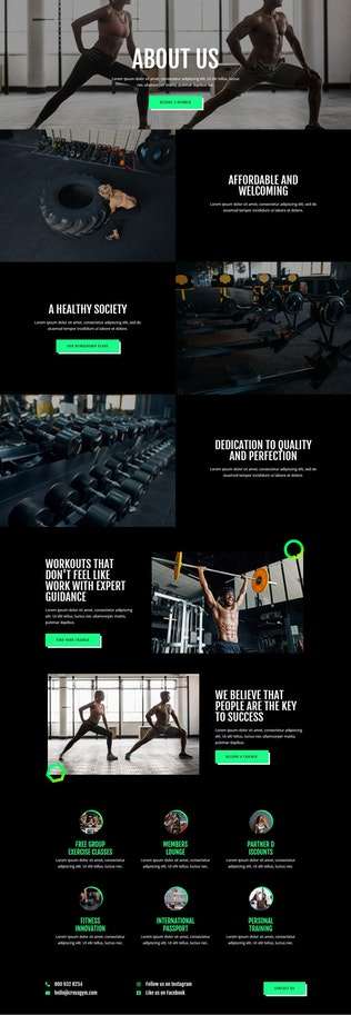 Thumbnail for CrossGym - Gym & Fitness Elementor Template Kit