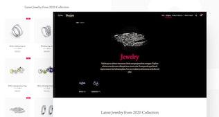 Shoppix - Template Kit para artículos de lujo y joyería