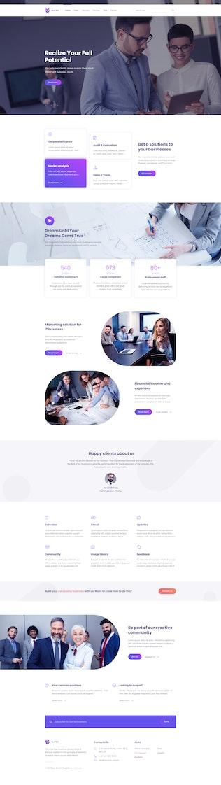 Thumbnail for Elipso – Digital Agency Elementor Template Kit
