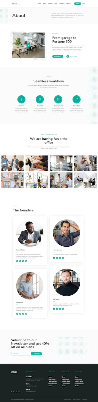 Thumbnail for Redial - Corporate & Business Template Kit