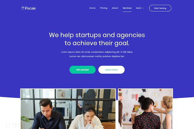Fiscale | Business & Finance Startup Elementor Template Kit by tokomoo on Envato Elements