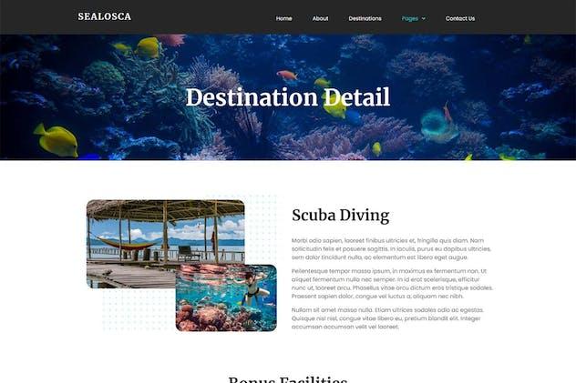 Sealosca - Sea Adventure Travel Template Kit by kotakkuningstudio on Envato Elements