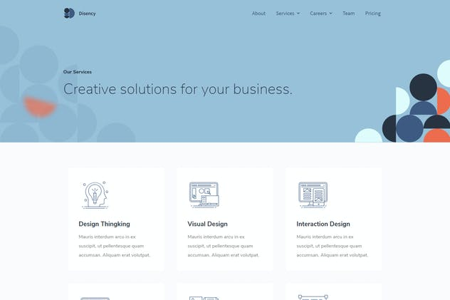 Disency | Agency Elementor Template Kit by tokopress on Envato Elements