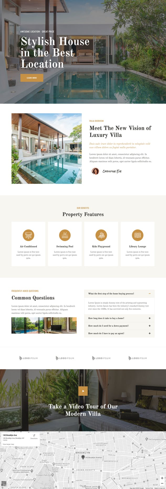 Piltos - Single Property Elementor Template Kit - product preview 2