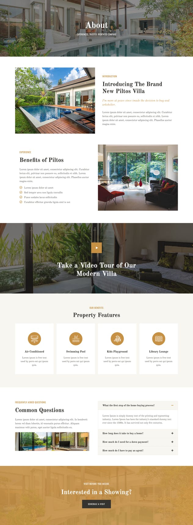 Piltos - Single Property Elementor Template Kit - product preview 3