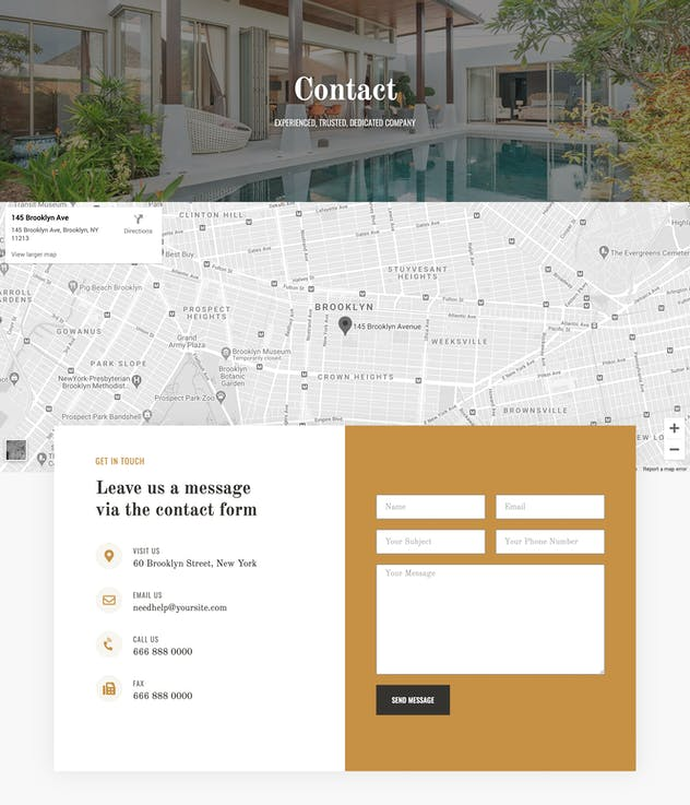 Piltos - Single Property Elementor Template Kit - product preview 5