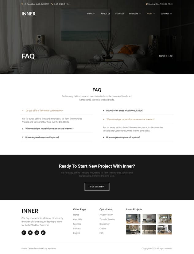 Inner – Interior Design & Architecture Template Kit - product preview 10