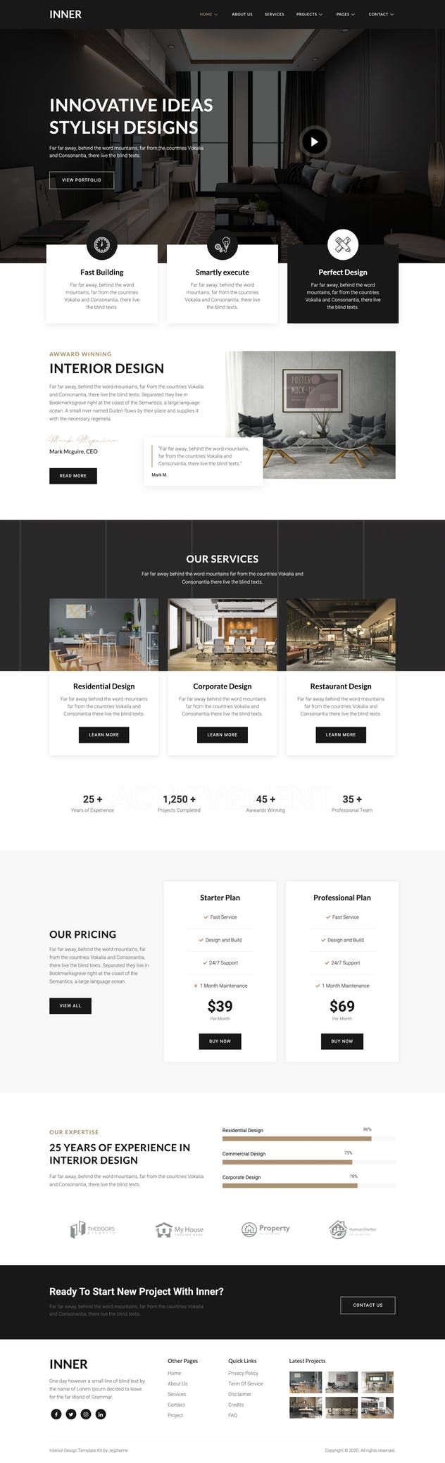 Inner – Interior Design & Architecture Template Kit - product preview 7