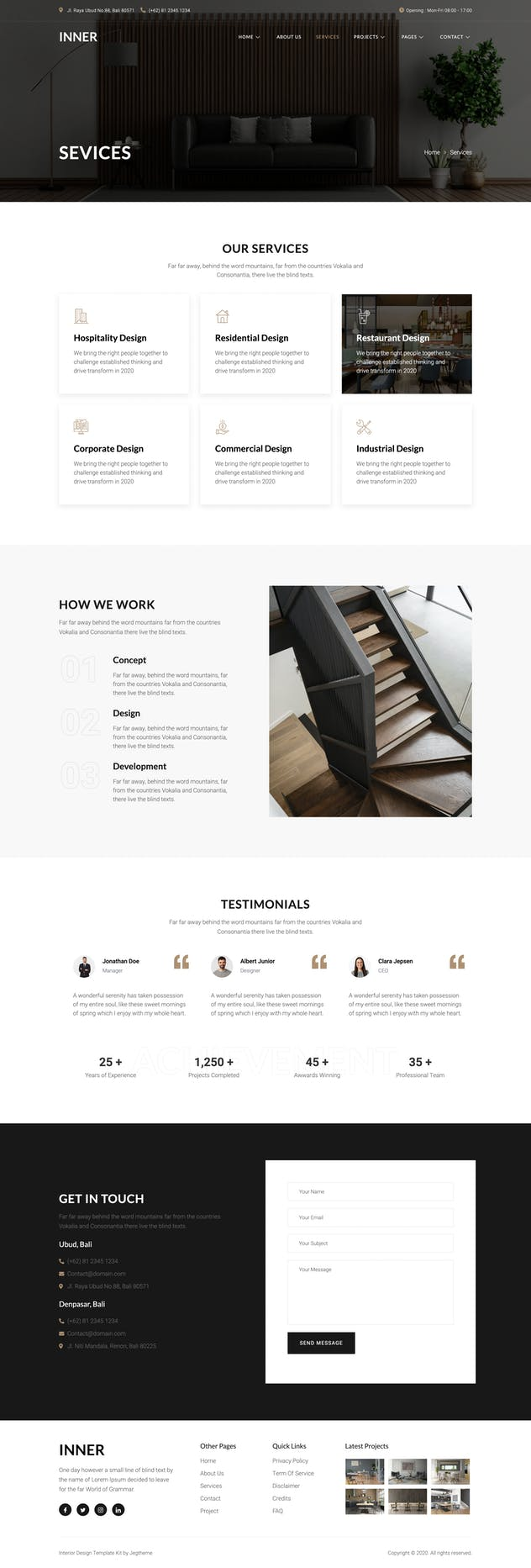 Inner – Interior Design & Architecture Template Kit - product preview 5