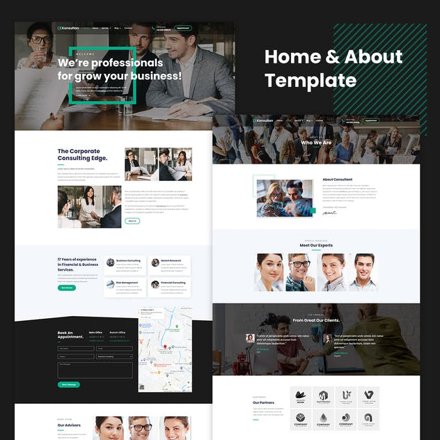 Konsultan Kit - Consulting Business Elementor Template Kit - product preview 4