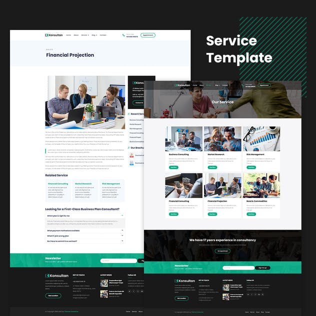 Konsultan Kit - Consulting Business Elementor Template Kit - product preview 3