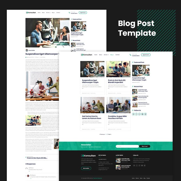 Konsultan Kit - Consulting Business Elementor Template Kit - product preview 2