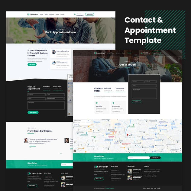Konsultan Kit - Consulting Business Elementor Template Kit - product preview 1