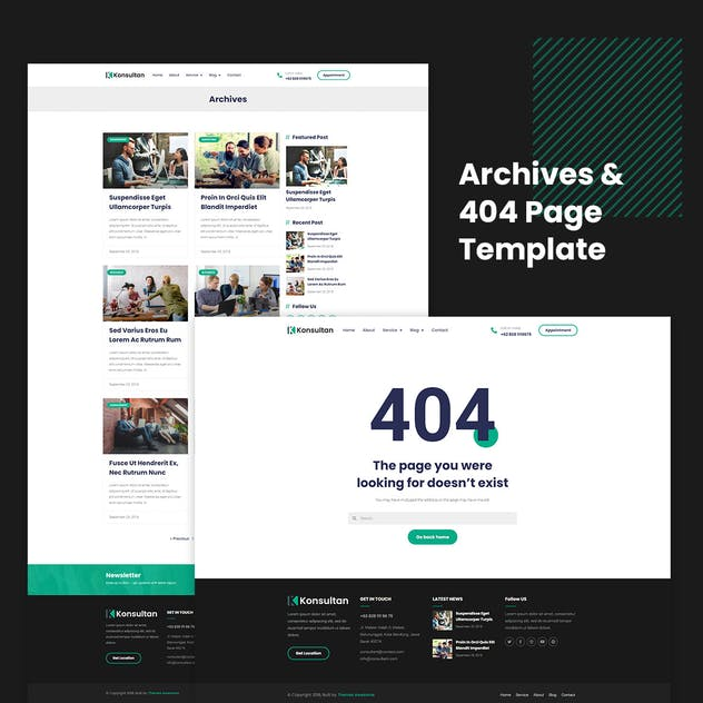 Konsultan Kit - Consulting Business Elementor Template Kit - product preview 0