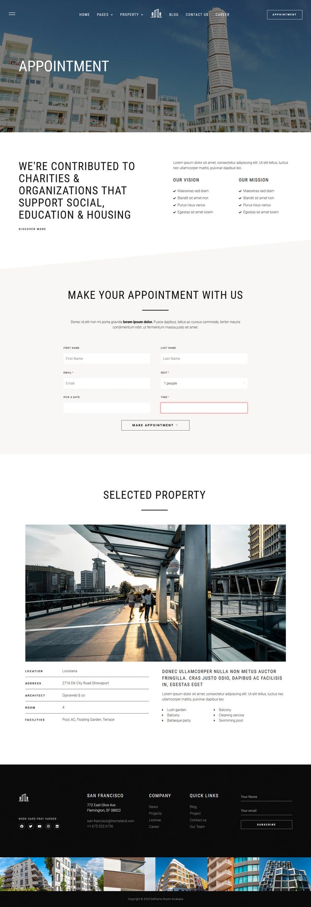 Homeland — Real Estate & Property Elementor Template Kit - product preview 2