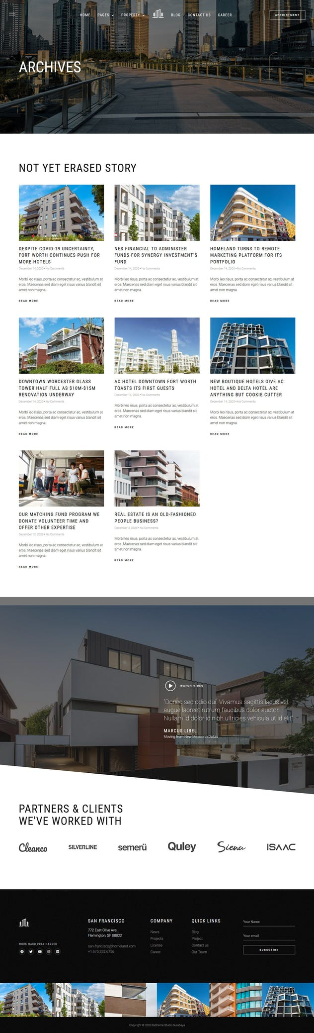 Homeland — Real Estate & Property Elementor Template Kit - product preview 3