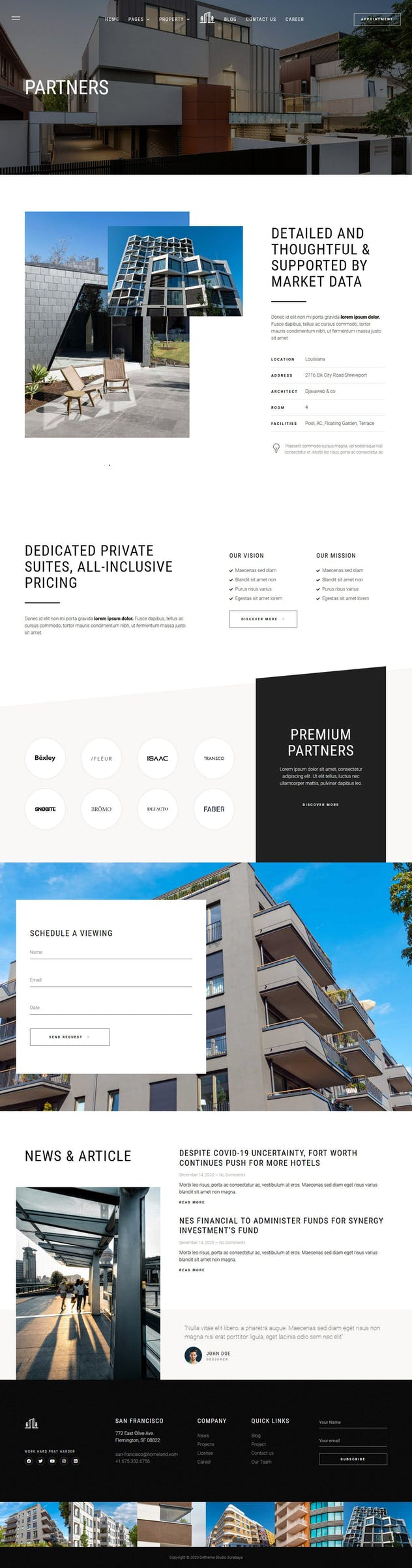 Homeland — Real Estate & Property Elementor Template Kit - product preview 12