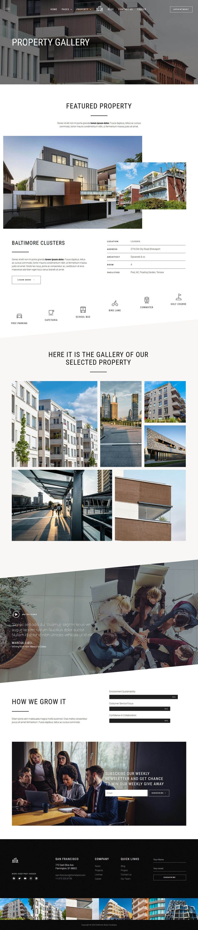 Homeland — Real Estate & Property Elementor Template Kit - product preview 13