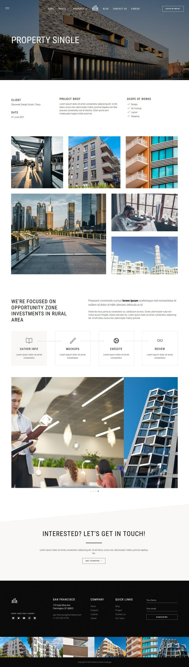 Homeland — Real Estate & Property Elementor Template Kit - product preview 14