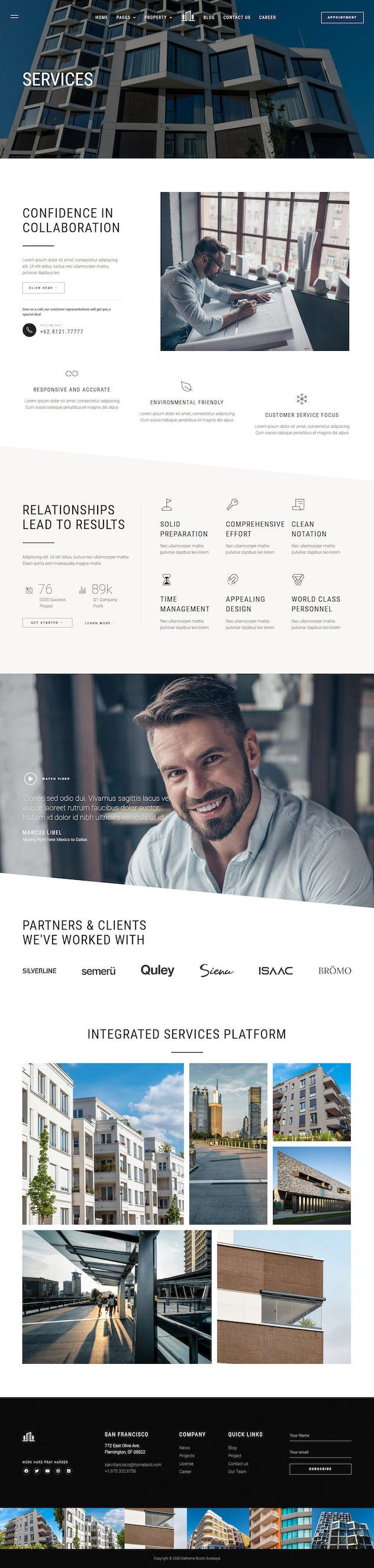 Homeland — Real Estate & Property Elementor Template Kit - product preview 15